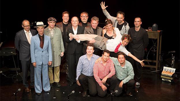 Zwei Mal im Jahr entsteht im Kleintheater Luzern ein Dreamteam: «Ohrfeigen - die Live-Radio-Show».