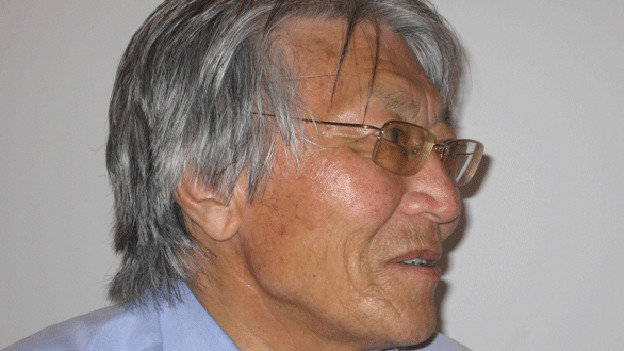 Galsan Tschinag, Buchautor.