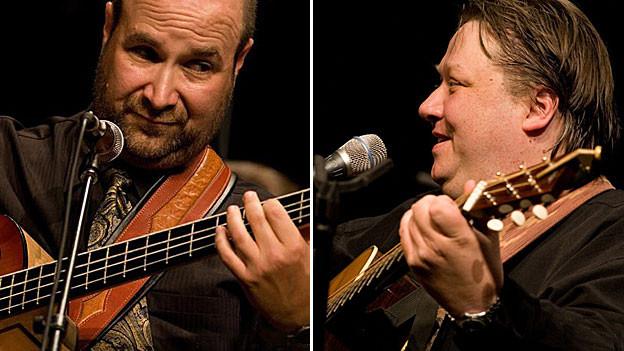 Joel Landsberg und Uwe Krüger