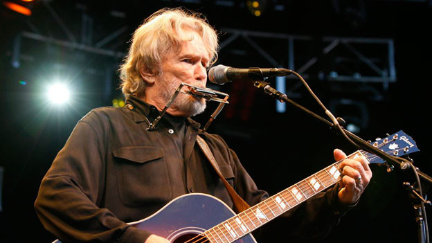 Countrysänger Kris Kristofferson.