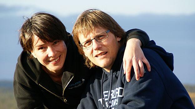 Rena und Beat Rieder-Oberson sind anfangs 2012 nach Schwedisch Lappland ausgewandert.