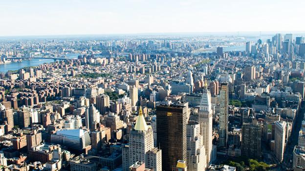 Inbegriff einer Grossstadt: New York City.