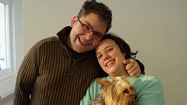Florian Eugster und Manuela Baldinger.