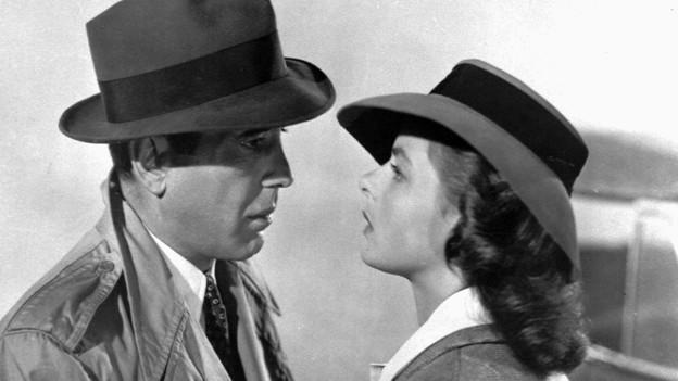 Humphrey Bogart als Rick und Ingrid Bergman als Ilsa in «Casablanca».