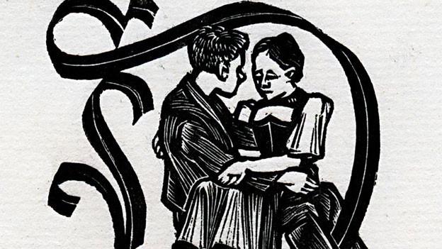 Ausschnitt Holzstich von Emil Zbinden.