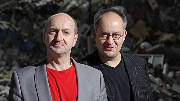 Dirk Pursche und Stefan Klucke von «Schwarze Grütze»