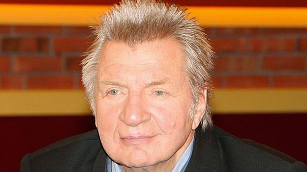 Der österreichische Kabarettist Werner Schneyder