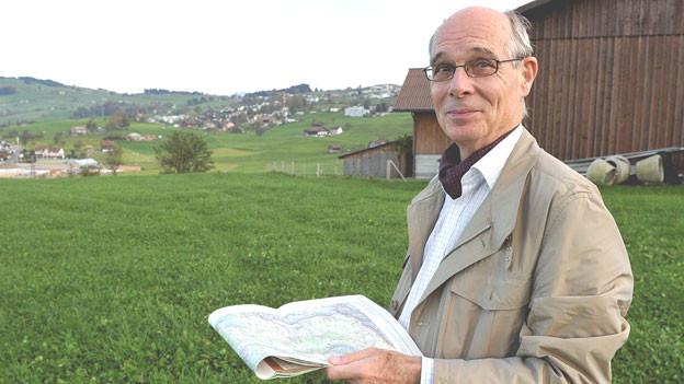 Kenner der Urschweizer Fluren und ihrer Namen: Viktor Weibel.