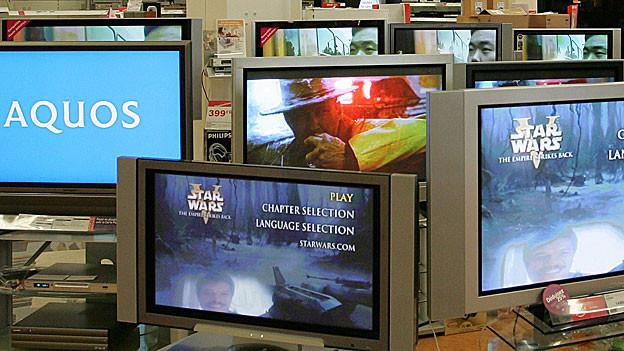 Der Sprung vom analogen zum digitalen Fernseh-Bild ist vergleichbar mit der Umstellung vom Schwarzweiss- aufs Farbfernsehen.