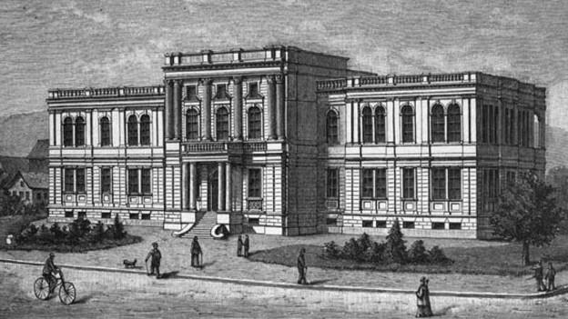 Die 1895 an der Rämistrasse in Zürich errichtete Augenklinik.