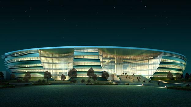 Diese Bibliothek will der Schweizer Architekt in Peking bauen.