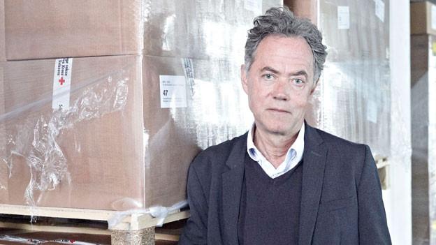 Josef Reinhardt, Leiter der Katastrophenhilfe Schweiz.