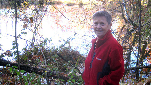 Einer von unzähligen Seen allein im Tessin: Das Biotop oberhalb von Camorino. Laut Gertrud Häfeli ein ruhiger Ort und wenig bekannt.