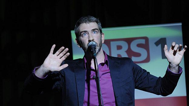 Kabarettist, Liedermacher und Comiczeichner Manuel Stahlberger