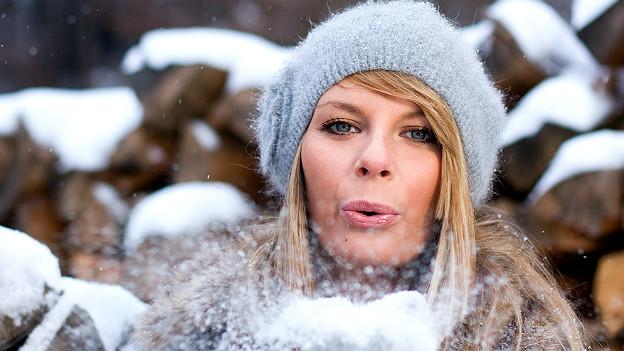 Gut geschützt vor der Kälte lässt sich der Schnee gleich nochmal so gut geniessen