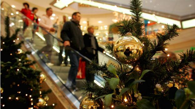 Gestresst an Weihnachen? Dann sollten Sie Kaufhäusern fern bleiben.