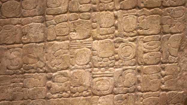 Replikat des «Monument 6» der Maya. Auf «Monument 6» basieren viele Weltuntergangstheorien.