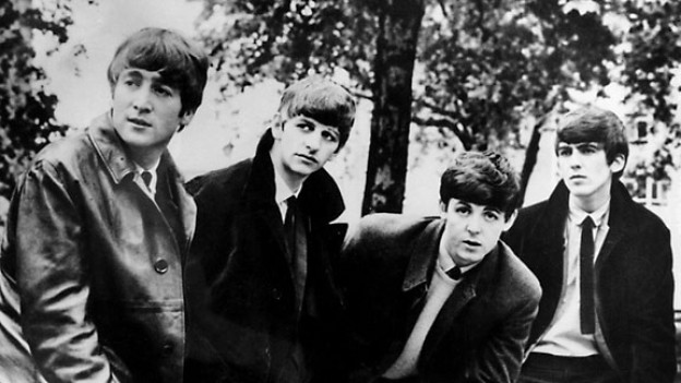 v.l.n.r.: John Lennon, Ringo Starr, Paul McCartney and George Harrison.