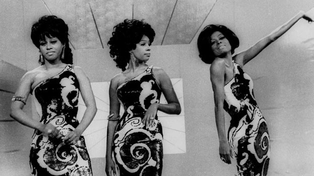 Frauenpower: the Supremes (v.l.n.r.Cindy Birdsong, Mary Wilson und Diana Ross).