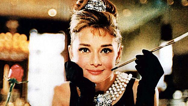 Audrey Hepburn im Film «Breakfast at Tiffany's».