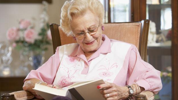 Gutes Sehvermögen erhöht die Lebensqualität im Alter.
