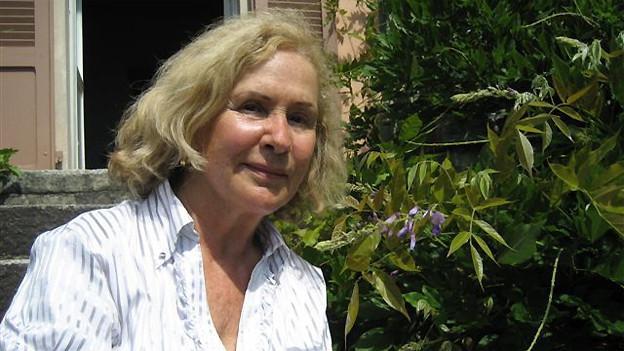 Schriftstellerin Eveline Hasler.
