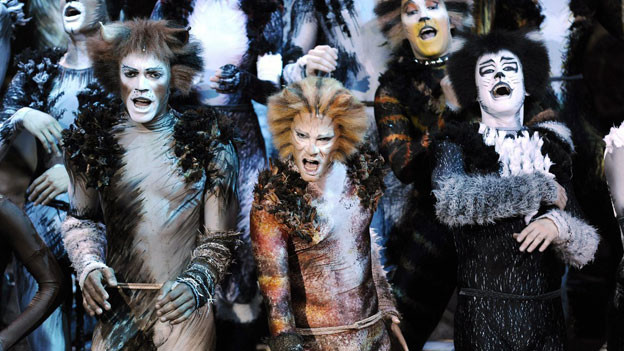 Das Musical Cats in Zürich.