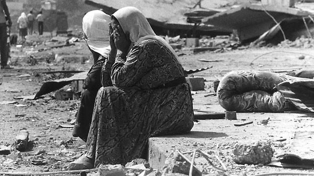 Beim Massaker 1982 wurden mehr als 1000 Palästinenser ermordet.