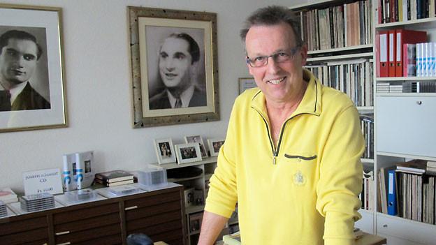 Ein grosses Herz für Joseph Schmidt: Alfred Fassbind.