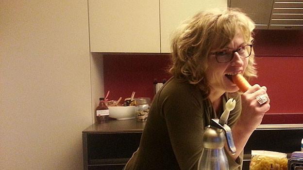 Ladina Spiess weiss, wie man Menüs aus Resten kochen kann.