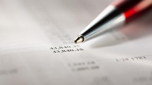 Ein Budget für den privaten Haushalt kann helfen, die Finanzen im Griff zu haben.