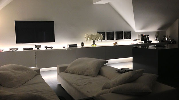 indirektes licht wohnzimmer. Black Bedroom Furniture Sets. Home Design Ideas