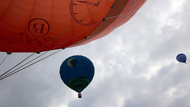 Heissluftballon-Festival in Genf 2012.