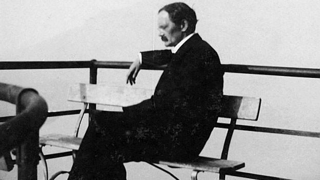 Fritz Brupbacher auf dem Bürgenstock (1918)