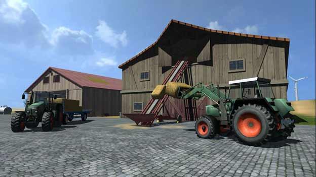 Screenshot aus Landwirtschafts-Simulator.