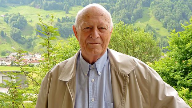 Alois Gwerder lebt heute im Altersheim Buobenmatt in Muotathal.