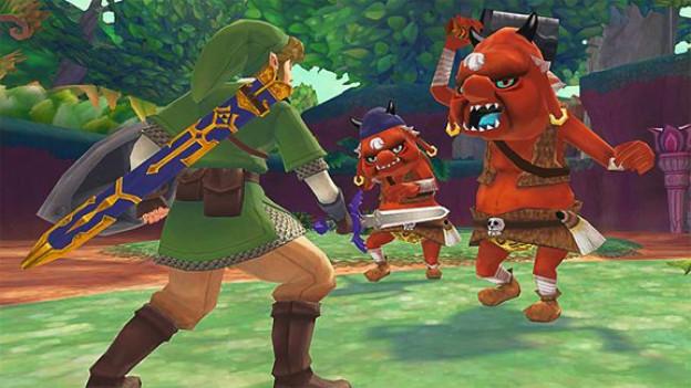 Kleiner Held, grosse Gegner: Link in «The Legend of Zelda: Skyward Sword»