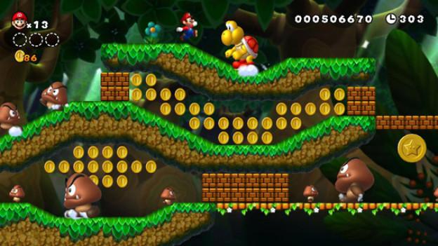 Langer Titel, gestochen scharfe Grafik: «New Super Mario Bros. U»