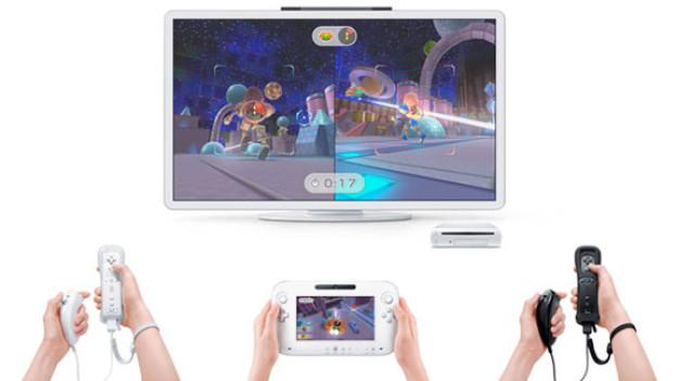 Der neue Kontroller der Wii U