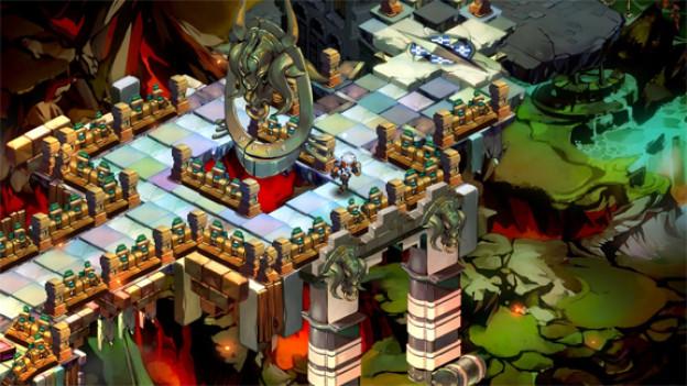 Monster, Zaubertränke, magische Kräfte und archaische Waffen: In «Bastion» entsteht eine Welt vor unseren Augen