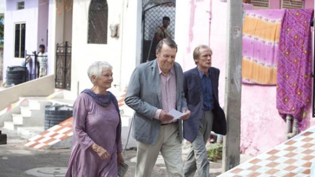 Gute Schauspieler in einem mittelmässigen Film: Judy Dench, Tom Wilkinson und Bill Nighy.