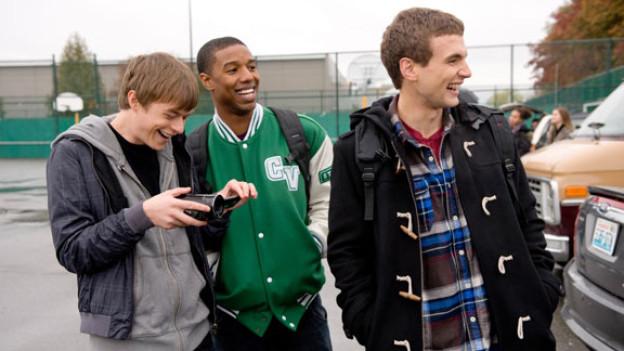 Drei Jugendliche haben Spass mit ihren neu entdeckten übersinnlichen Kräften: Dane DeHaan, Michael B. Jordan und Alex Russell.