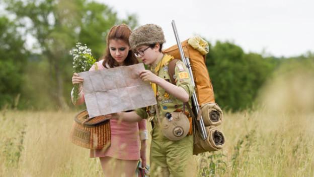 Die Ausreisser Sam (Jared Gilman) und Suzy (Kara Hayward) halten eine ganze Insel vor der Küste Neuenglands auf Trab.