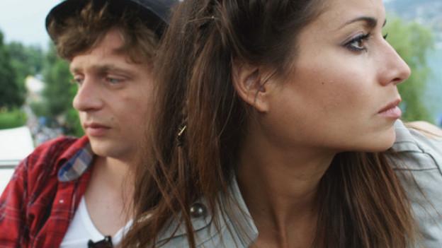In den Hauptrollen: Nadine Vinzens und Philippe Graber.