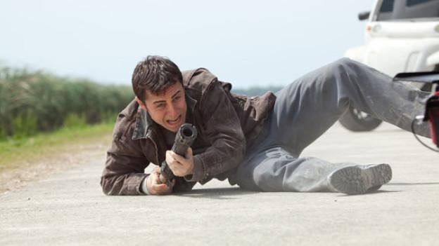 In «Inception» und «The Dark Knight Rises» hatte Joseph Gordon-Levitt noch Nebenrollen, in «Looper» spielt er nun die Hauptrolle.
