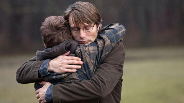 Für seine eindrückliche Leistung in «Jagten» wurde Mads Mikkelsen in Cannes als bester Schauspieler des Jahres ausgezeichnet.