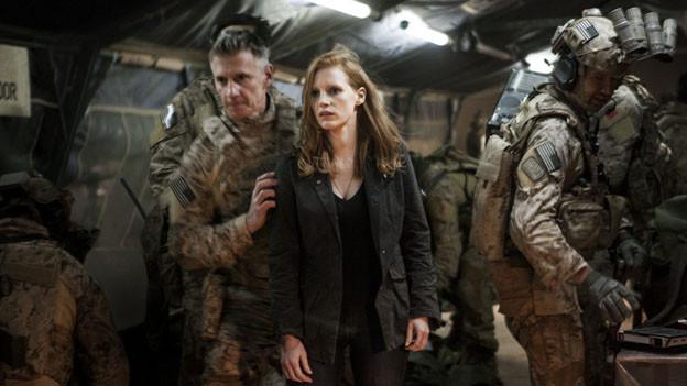 Jessica Chastain brilliert als CIA-Agentin Maya Lambert und ist zurecht für einen Oscar nominiert.