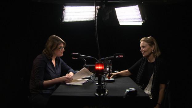 Franziska von Grünigen im Interview mit Marthe Keller