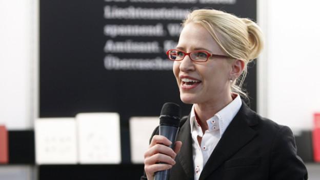 Aurelia Frick ist seit dem 25. März 2009 Mitglied der Regierung des Fürstentums Liechtenstein.