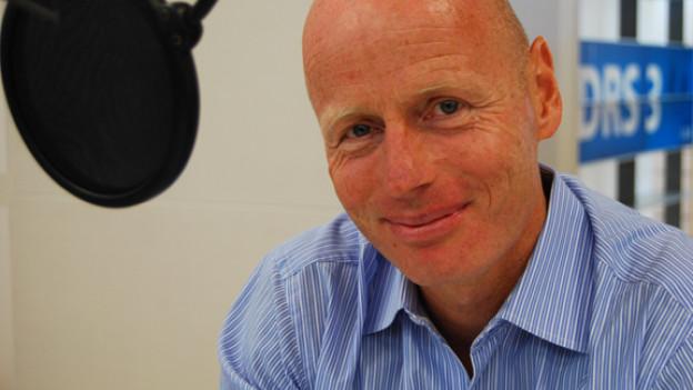 Focus-Gast Marc Walder im DRS 3-Studio.
